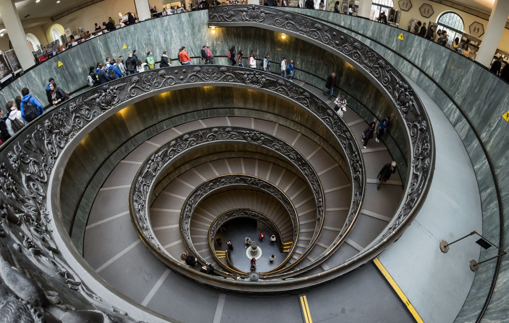 Vatican Museums Spiral Staircase 2012
