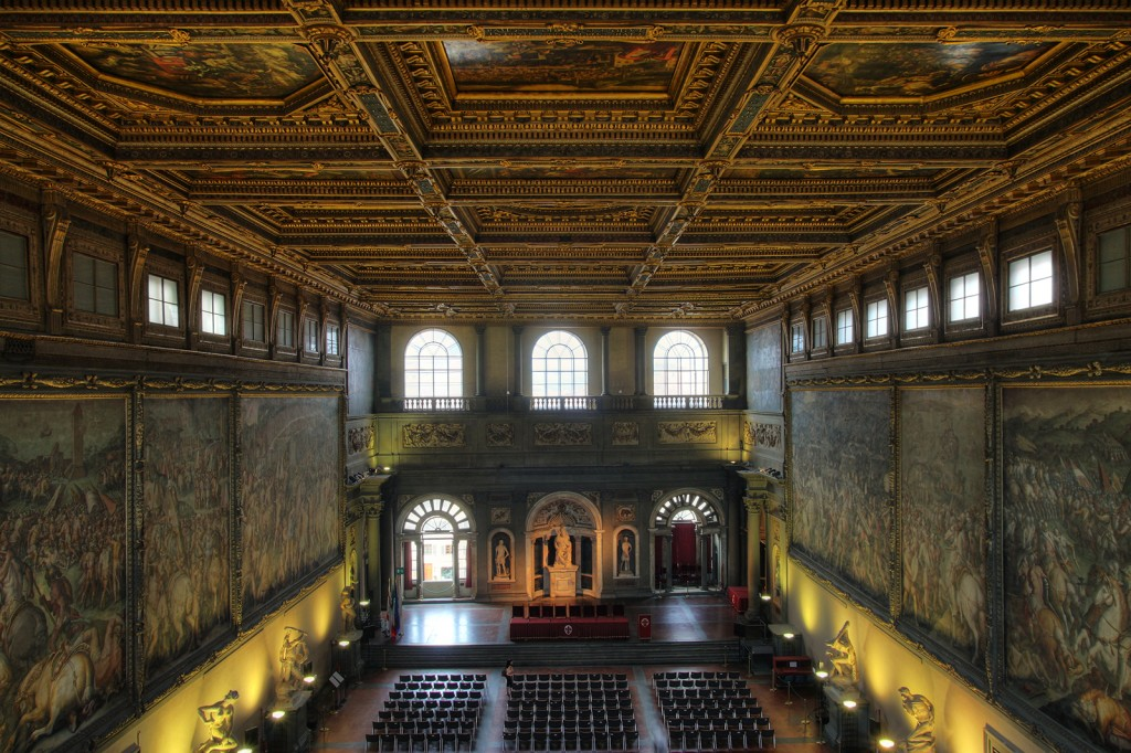 Florence - Palazzo Vecchio - great hall