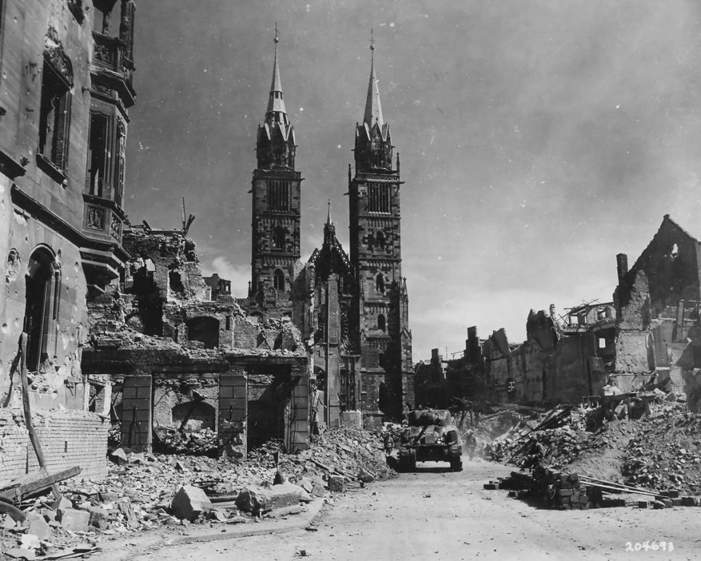 45th_Infantry_Division_Troops_and_M4_Sherman_Fighting_in_Nuremburg_Germany_II