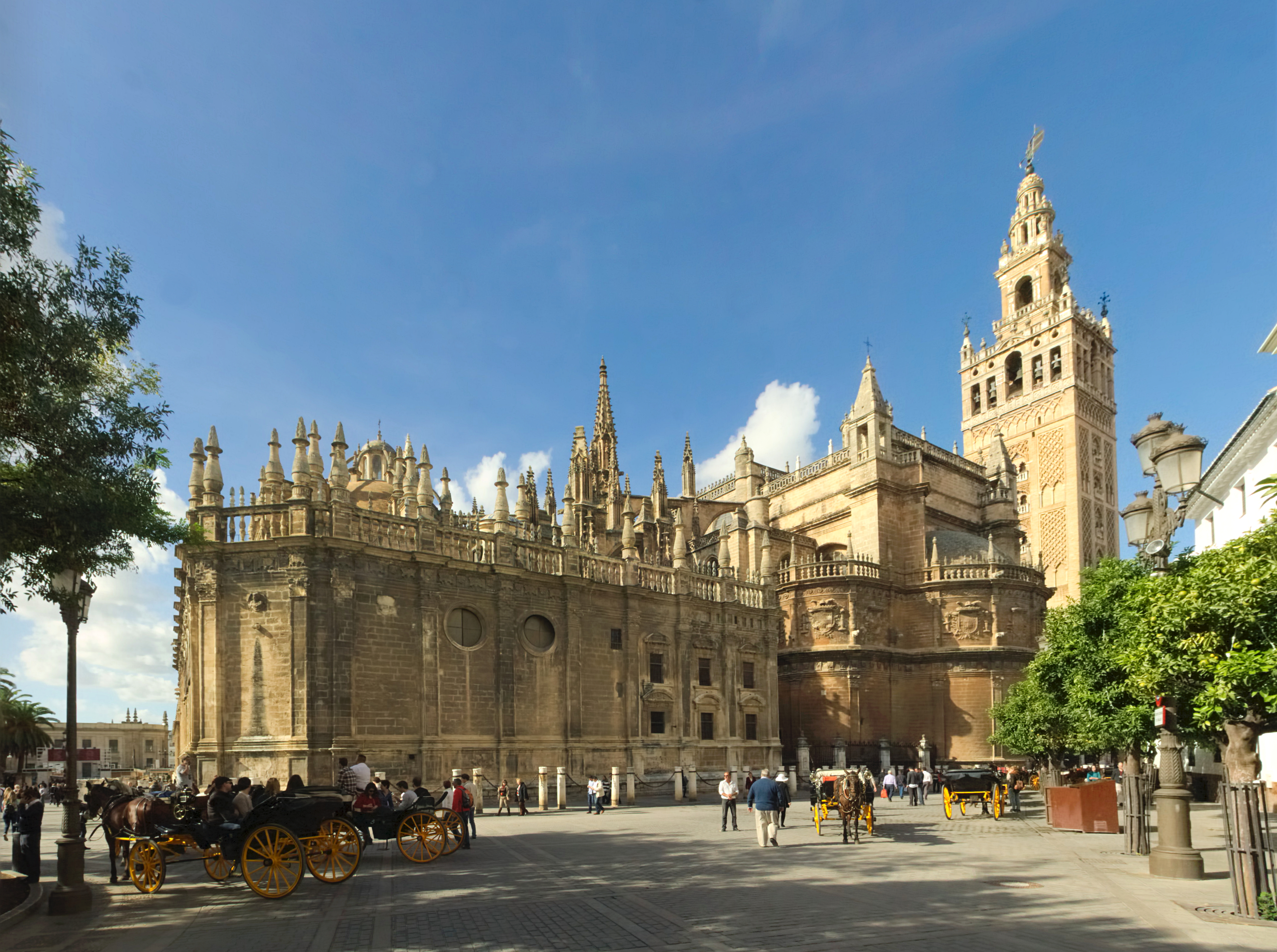 Kathedrale Sevilla Explosion